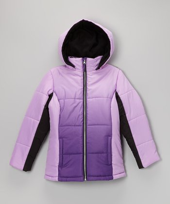 Purple Ombré Jacket