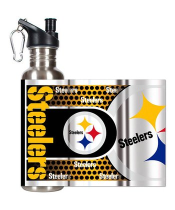 Pittsburgh Steelers Stainless Steel Water Bottle