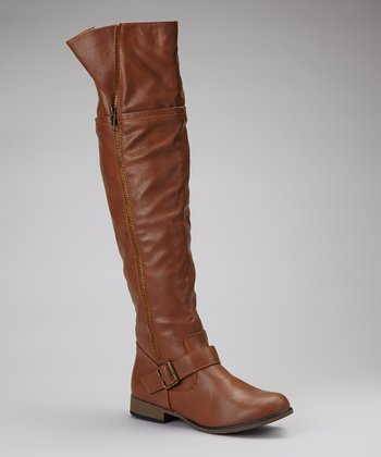 Tan Legend Over-the-Knee Boot