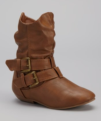 Tan Tamika Buckle Boot