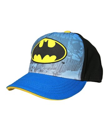 Blue Batman Logo Baseball Cap