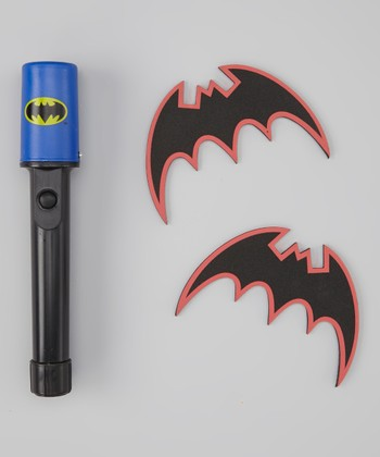 Rubie's Black Batman Batarangs & Safety Light Set