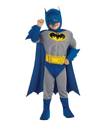 Vintage Batman Muscular Dress-Up Set - Toddler