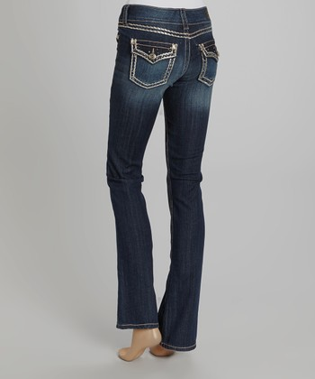 Insight Blue Bootcut Jeans