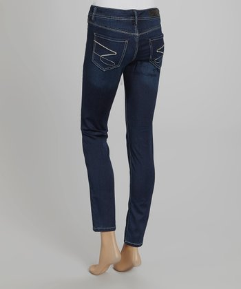 Friction Blue Skinny Jeans