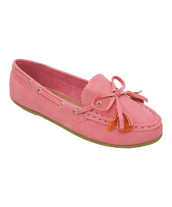 Pink Abbie Loafer