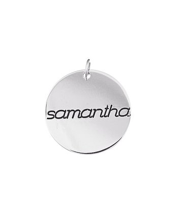 Sterling Silver Name Personalized Charm