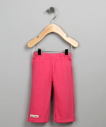Dark Pink French Terry Karate Pants