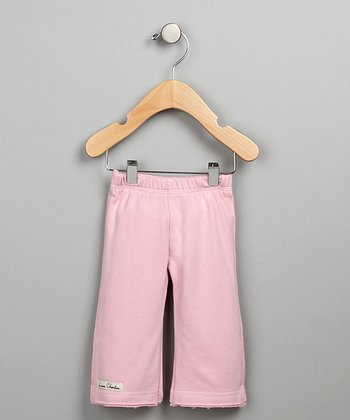 Pink French Terry Karate Pants