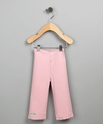 Pink Snap-Fly Pants