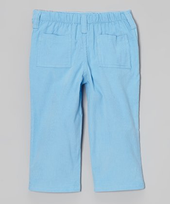 Light Blue Corduroy Pants - Infant, Toddler & Boys