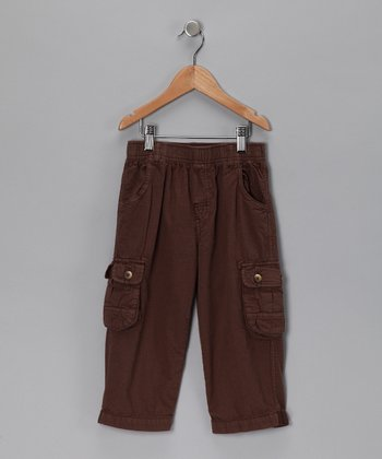 Cocoa Ripstop Cargo Pants - Infant, Toddler & Boys