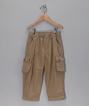 Khaki Ripstop Cargo Pants - Infant & Toddler