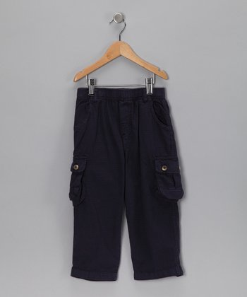 Navy Ripstop Cargo Pants - Infant, Toddler & Boys
