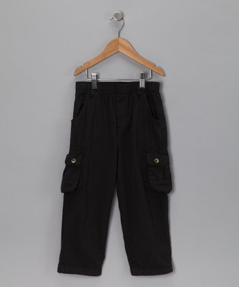 Black Ripstop Cargo Pants - Infant, Toddler & Boys
