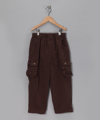 Cocoa Canvas Cargo Pants - Toddler & Boys