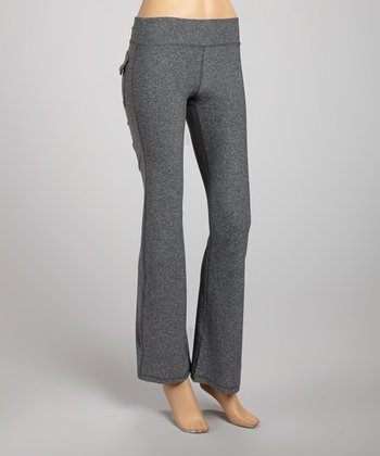 Heather Charcoal Workout Pants