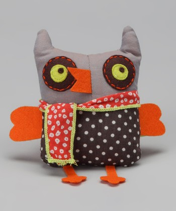 Brown Baby Owl 4'' Plush Toy