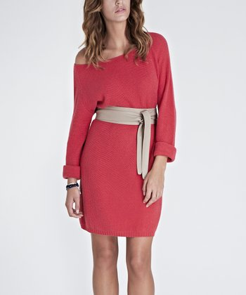 Pink Melon Sienna Off-Shoulder Dress