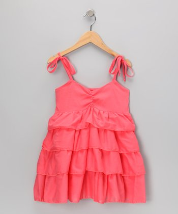 Dubarry Tiered Ruffle Dress - Girls