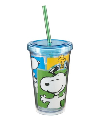 Snoopy 12-Oz. Travel Cup