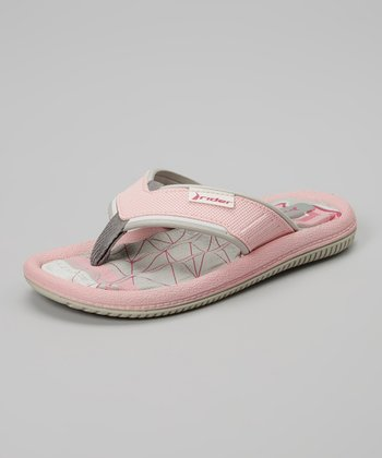 Light Pink & Gray Dunas V Flip-Flop