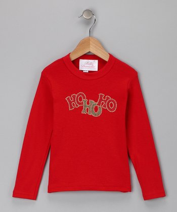 Red 'HOHOHO' Tee - Infant, Toddler & Girls