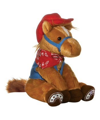 Pony Bay Plush Horse Set