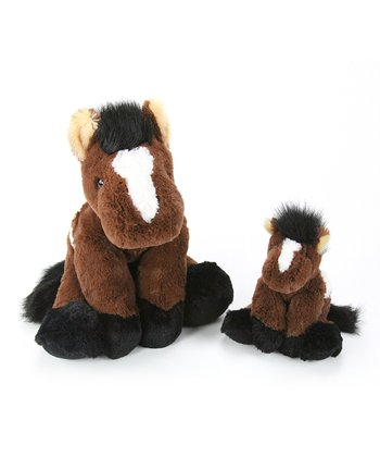 Snuggle-Ups Horse Plush Toy Set