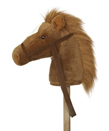 Brown Stick Pony