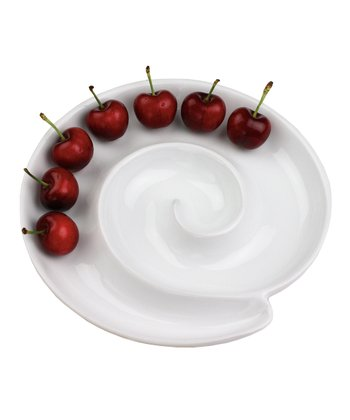 Porcelain Spiral Server