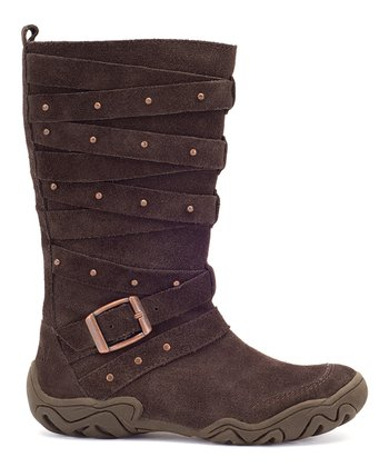 Chocolate Edrea Boot
