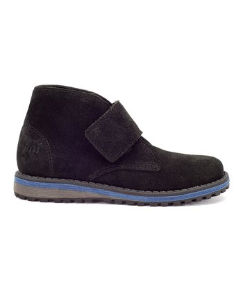 Black Henley Boot