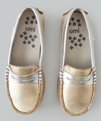 Gold Morie Loafer