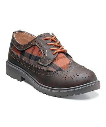 Brown Valco Jr Oxford