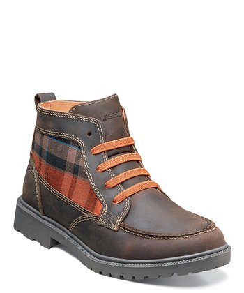 Brown Valco Moc Jr. Boot