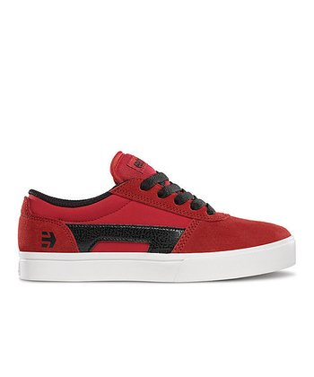 Red & Black Suede RCT Sneaker