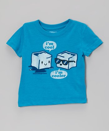 Blue 'I'm Cooler' Tee - Toddler