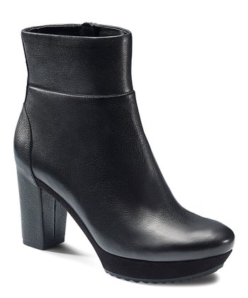Black Parnu Platform Ankle Boot
