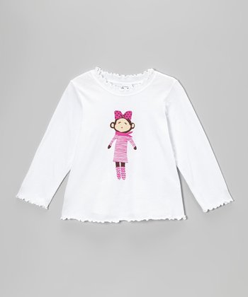 White Fashionista Tee - Infant, Toddler & Girls