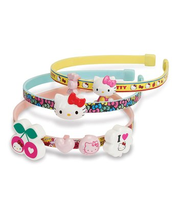 Hello Kitty Headband Whirl 'n' Wear Set