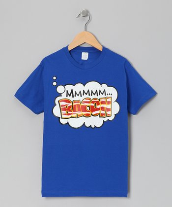 Royal 'Mmm..Bacon' Tee - Toddler & Boys