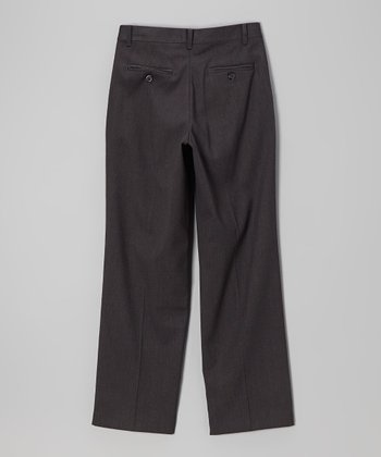 Charcoal Flannel Touch Pants