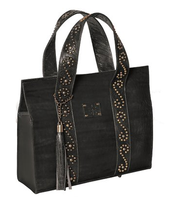 Black Delta Dawn Large Tote