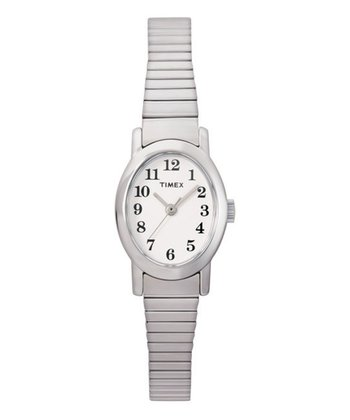 White Oval Watch