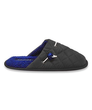 Gray Quilted Lakeview Slipper