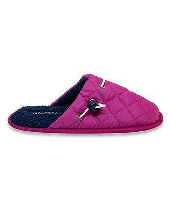 Pink Quilted Lakeview Slipper