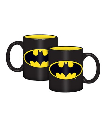 Batman Logo Mug - Set of Four