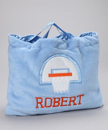 OC Daisy Blue Basketball Personalized Napbag