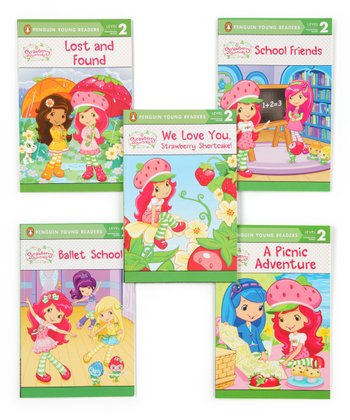 We Love You, Strawberry Shortcake! Book Set